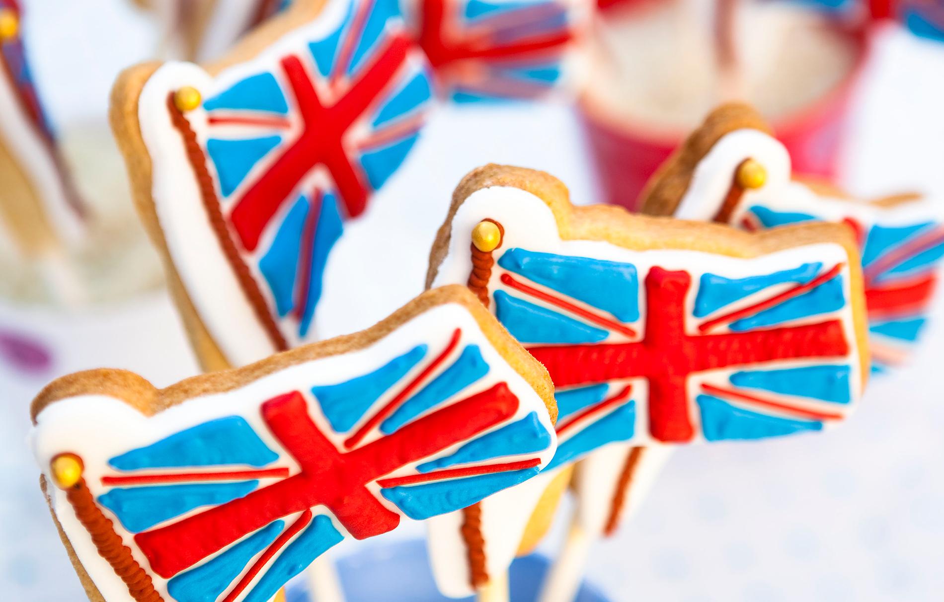 Union Jack Flag Cookies   Baking Recipes   GoodtoKnow