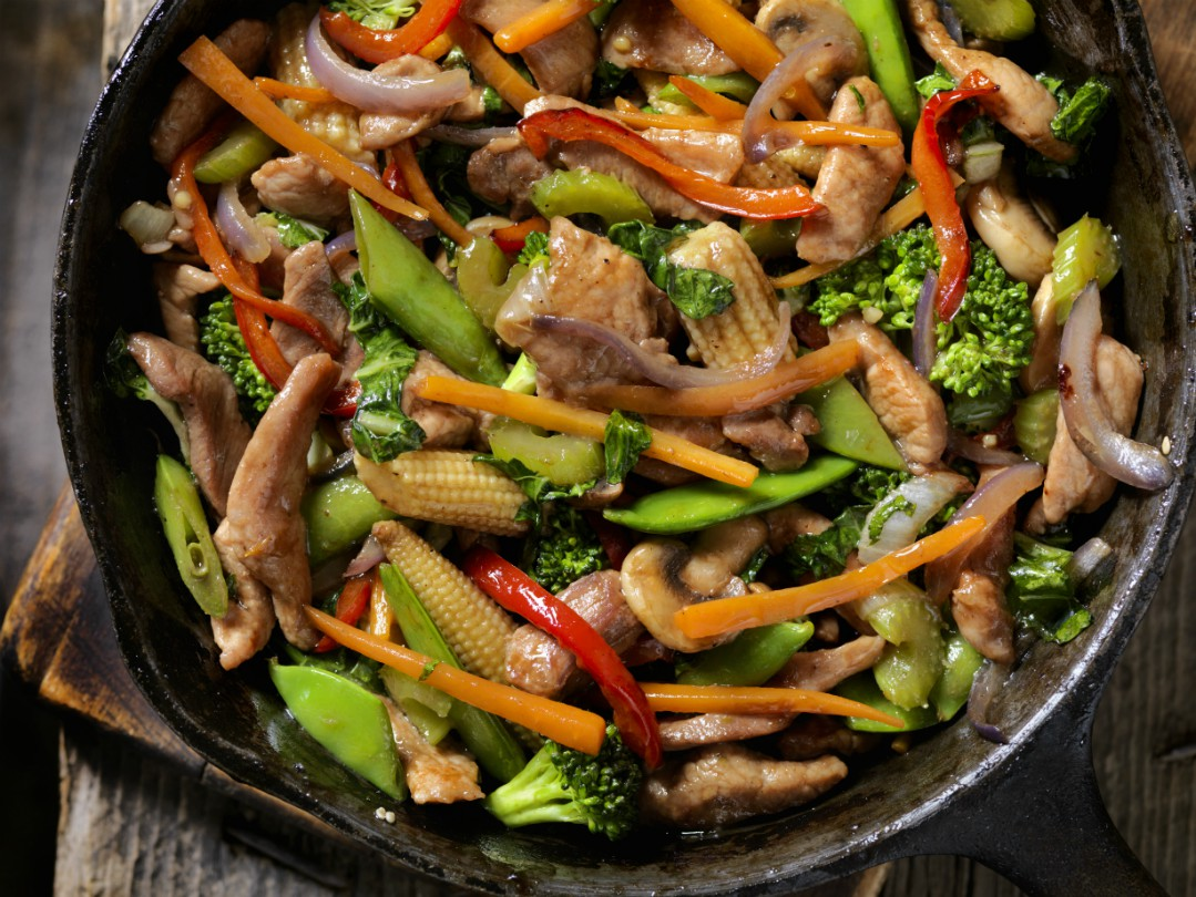 Pork Stir Fry Chinese Recipes Goodtoknow