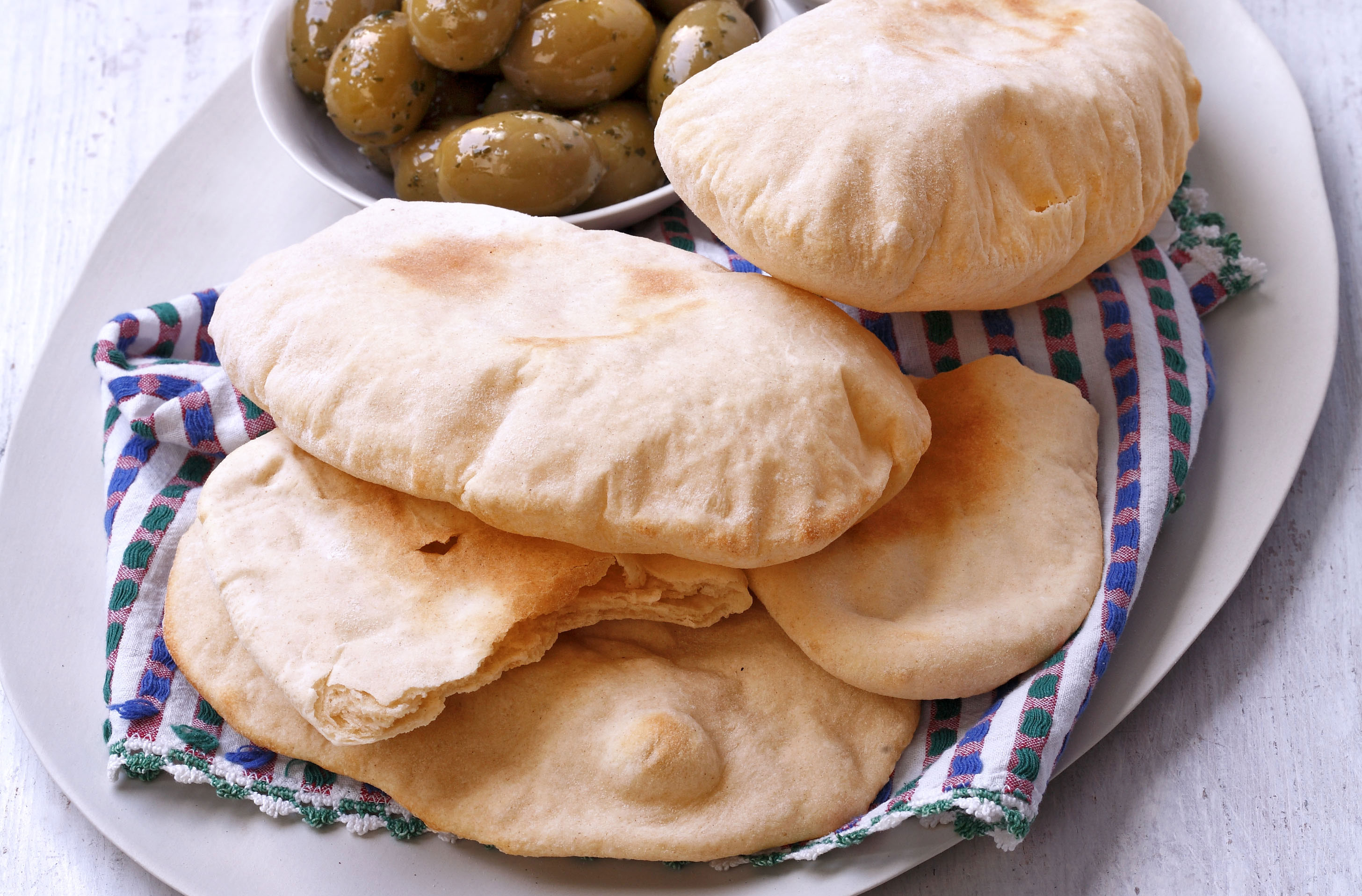 Pitta Bread Greek Recipes Goodtoknow