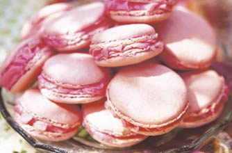 rose pink macaroons french recipes goodtoknow