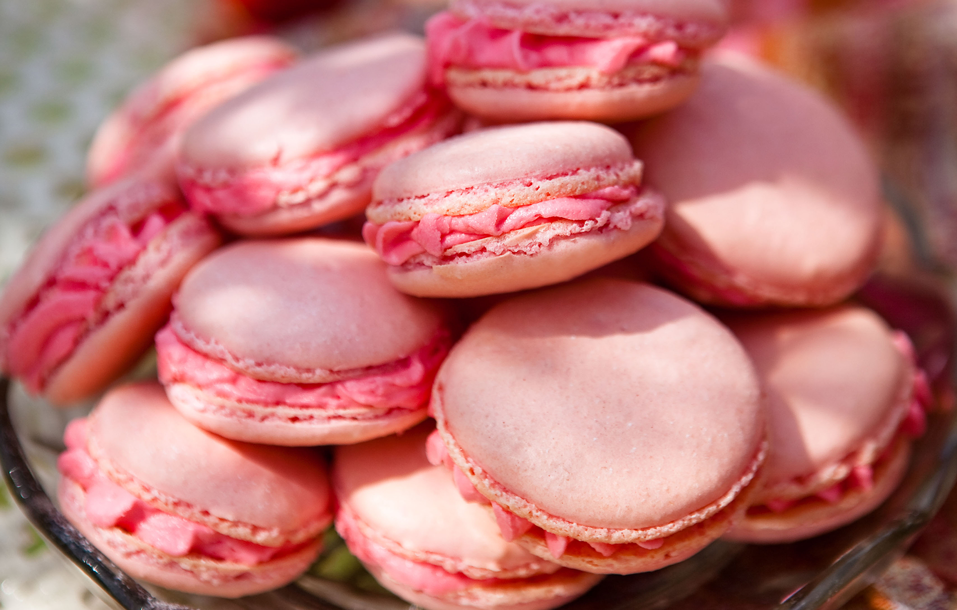 Rose Pink Macaroons Baking Recipes Goodtoknow