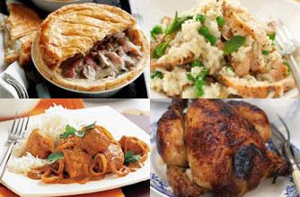 Top chicken recipes, October 2011