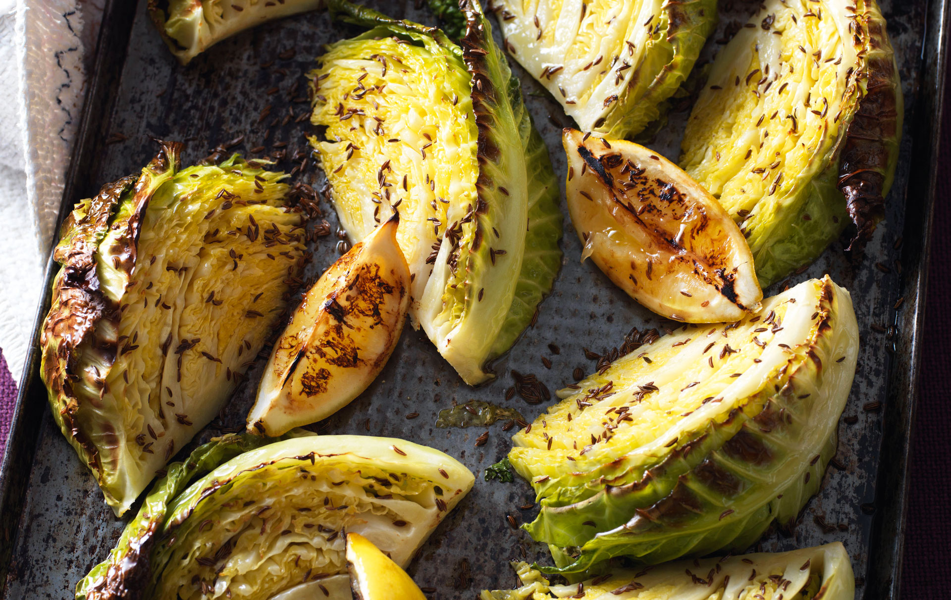 Roasted Cabbage Wedges Dinner Recipes Goodtoknow