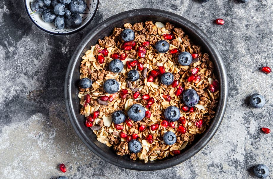 nut and muesli diet