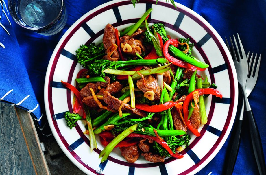 Slimming Worlds Lamb Ginger And Broccoli Stir Fry