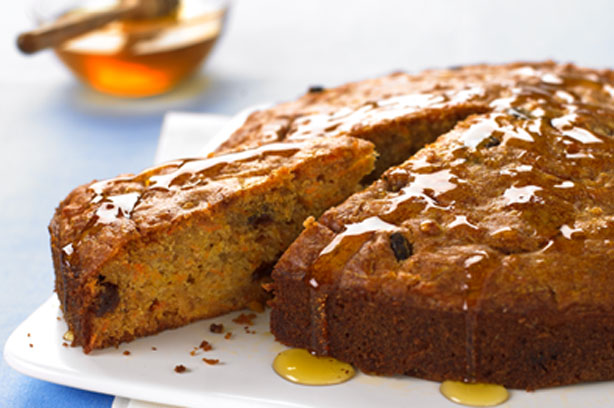 Carrot Cake Recipe Uk With Oil: Carrot, Honey And Raisin Cake