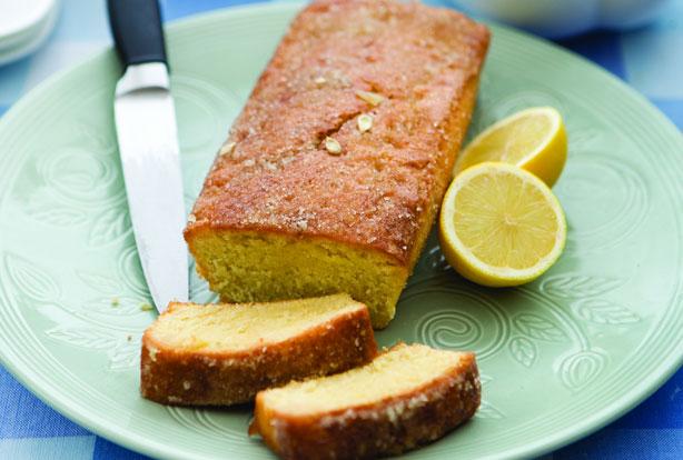 Egg Free Lemon Drizzle Cake