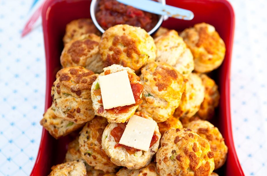 Cheese Bacon And Onion Scones