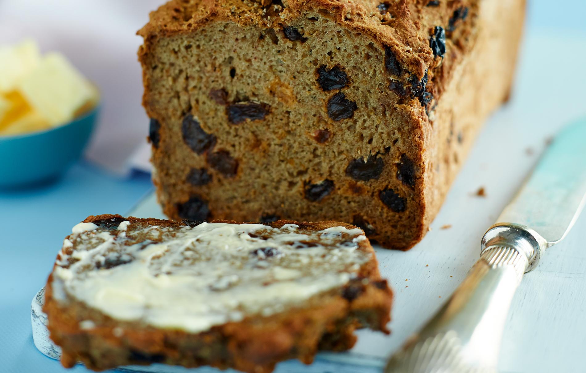 Gluten Free Raisin And Cinnamon Bread