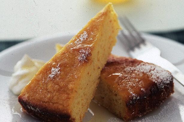 Luxury Orange And Almond Polenta Cake Recipe