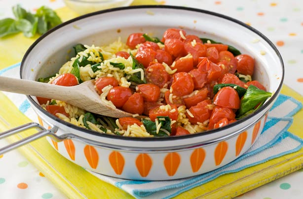 Tomatoes With Saffron Rice Recipe Goodtoknow