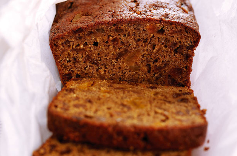 Фруктовый хлеб для диеты