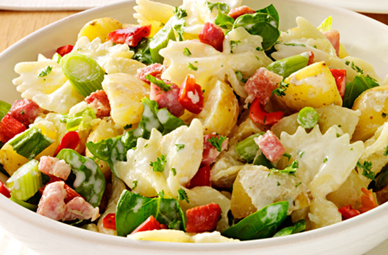 Pasta, Potato And Bacon Salad   Dinner Recipes   GoodtoKnow