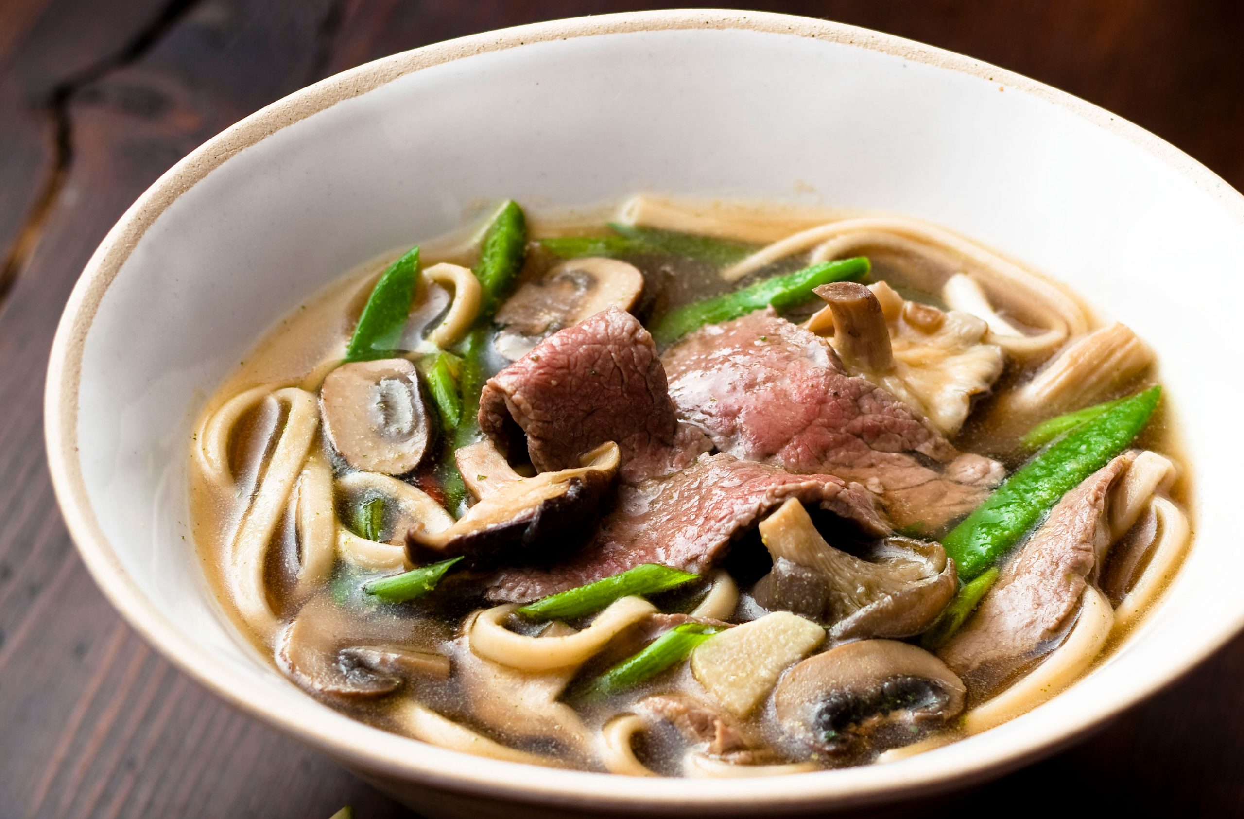 Japanese Broth With Udon Noodles Japanese Recipes Goodtoknow