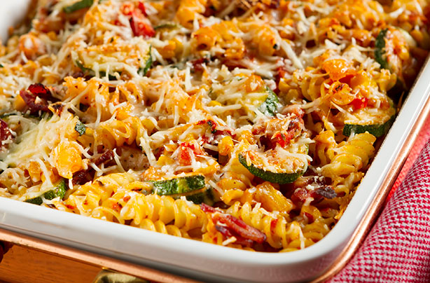 Baked Vegetable Pasta Recipe Goodtoknow
