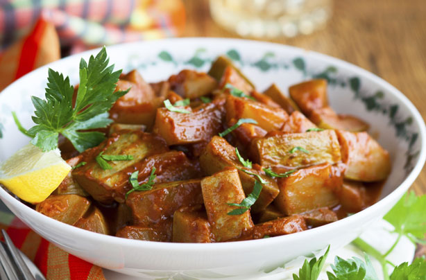 Spiced Moroccan Courgette Stew Moroccan Recipes Goodtoknow