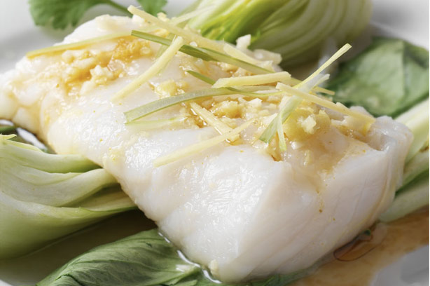 Steamed fish chinese style recipe goodtoknow steamed fish chinese style recipe forumfinder Images