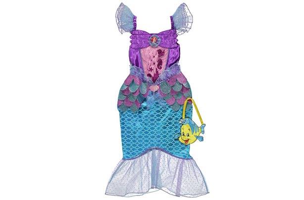 ea1d907f2b Little Mermaid Costume Asda & Disney Princess Ariel Little Mermaid ...