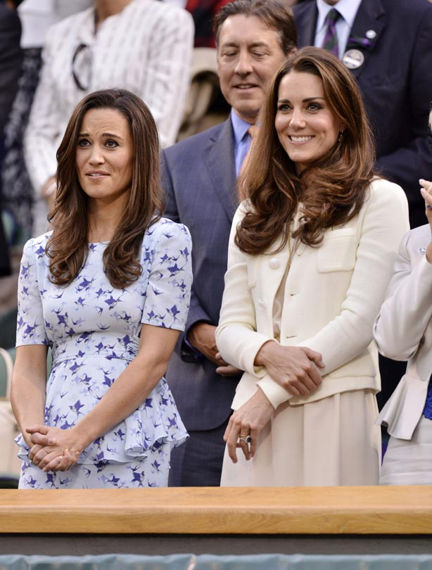 Marvelous Kate, Pictured Here With Pippa Last Year, Will Be The First Royal To Have A Baby  Shower, Usually An American Tradition.