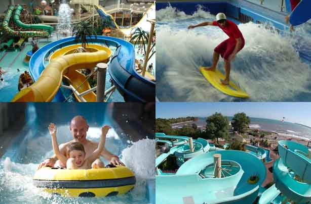 Best value waterparks in the UK