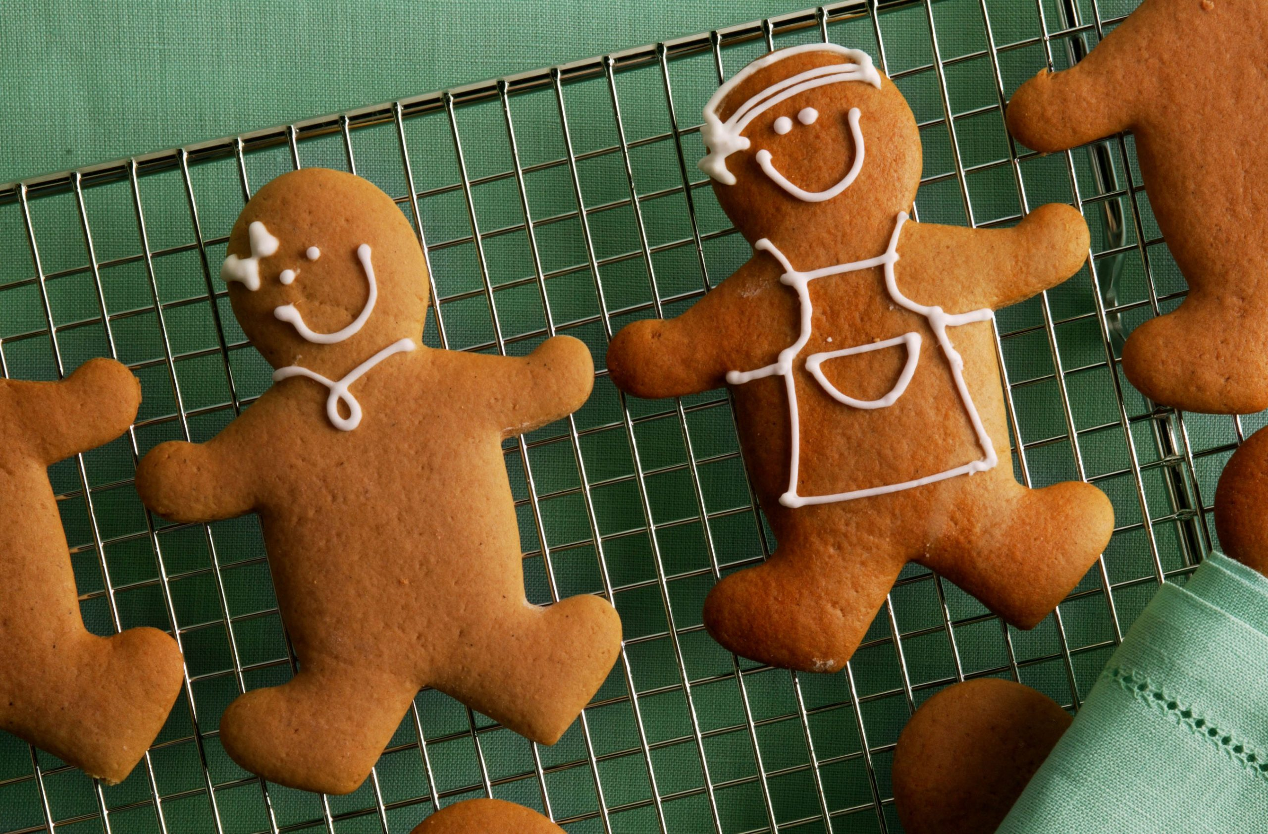 The Hummingbird Bakery gingerbread men