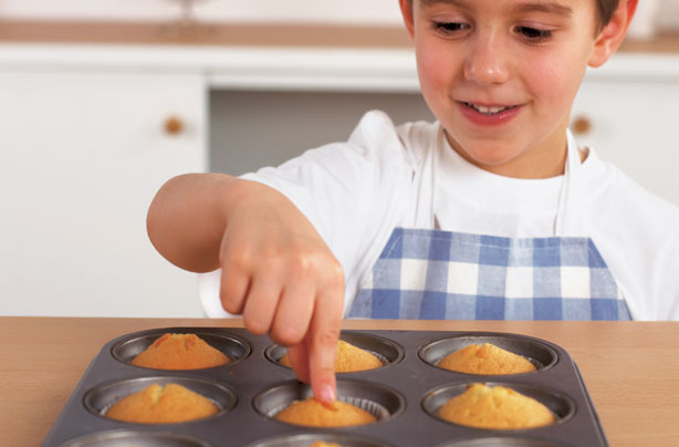 Your cooking with kids tips
