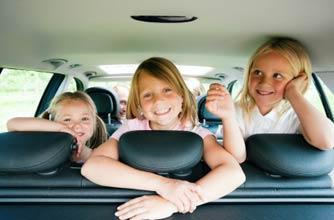 Children car journey