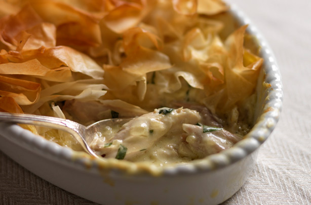 Hairy bikers chicken and tarragon pie recipe goodtoknow hairy bikers chicken and tarragon pie recipe forumfinder Image collections