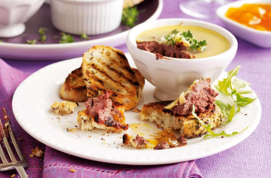 Chicken Liver Pate With Brandy Lunch Recipes Goodtoknow