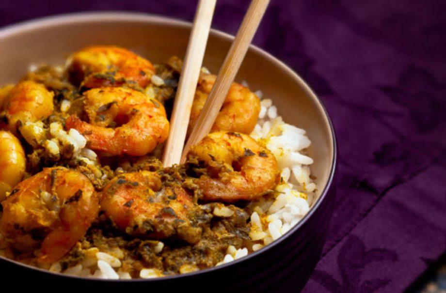 Chinese Prawn Curry