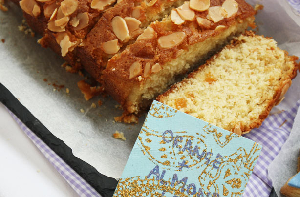 Cake Loaf Recipe Quick: Orange And Almond Loaf Cake With Maple Syrup