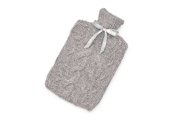 Knitted Hot Water Bottle Cover Hot Water Bottle Knitting Pattern