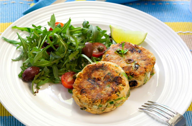 Fine Cooking Salmon Cakes