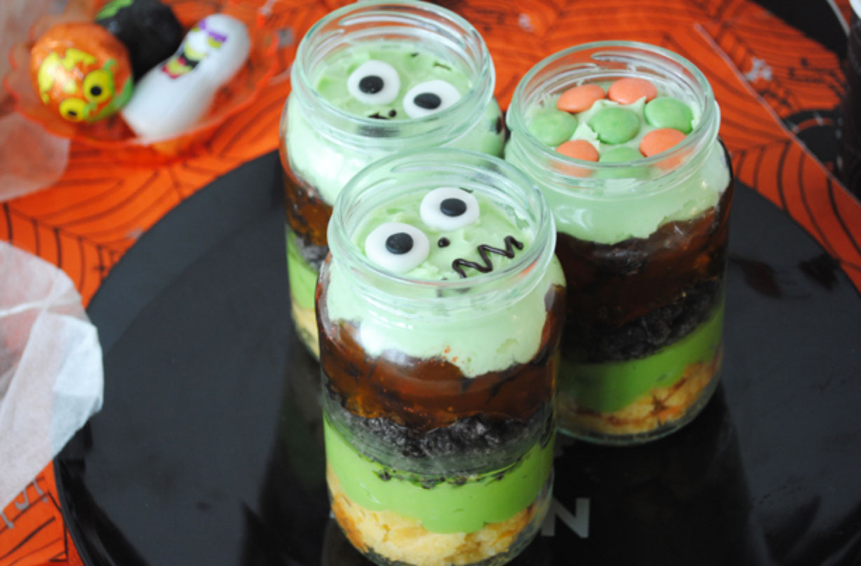 Be the talk of the party with these brilliantly terrifying Halloween trifles