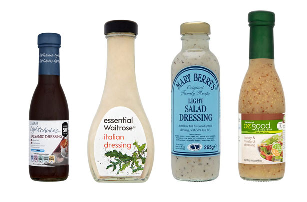 Salad dressings: best and worst revealed!