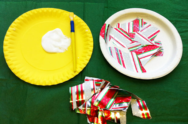 Step 2. How to make a paper plate tambourine. & Tambourine craft: how to make a paper plate tambourine
