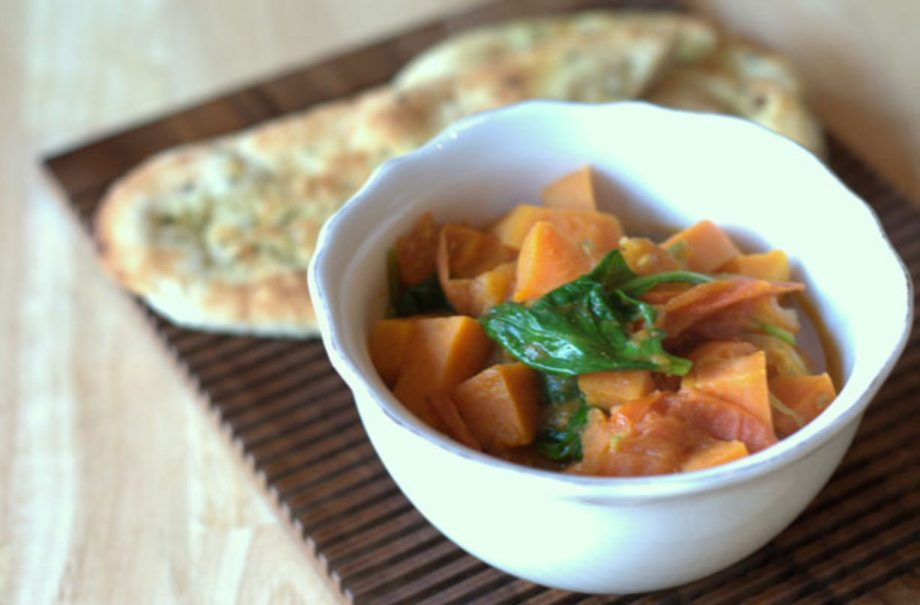 Easy Sweet Potato And Spinach Curry