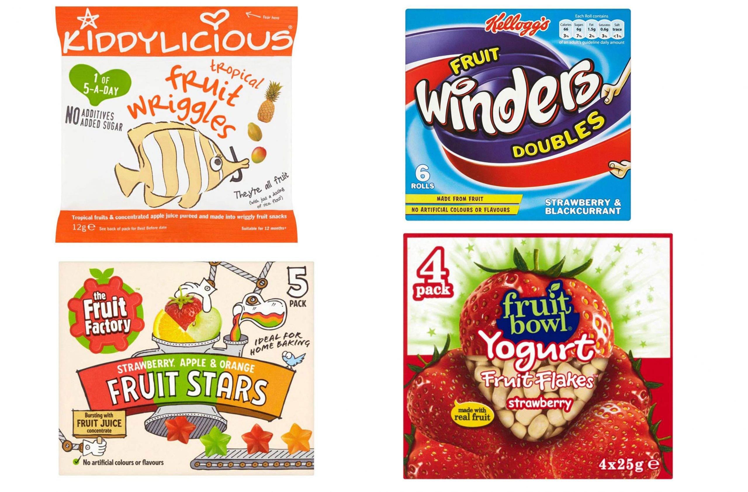 Fruit snacks for kids: the best and worst revealed!