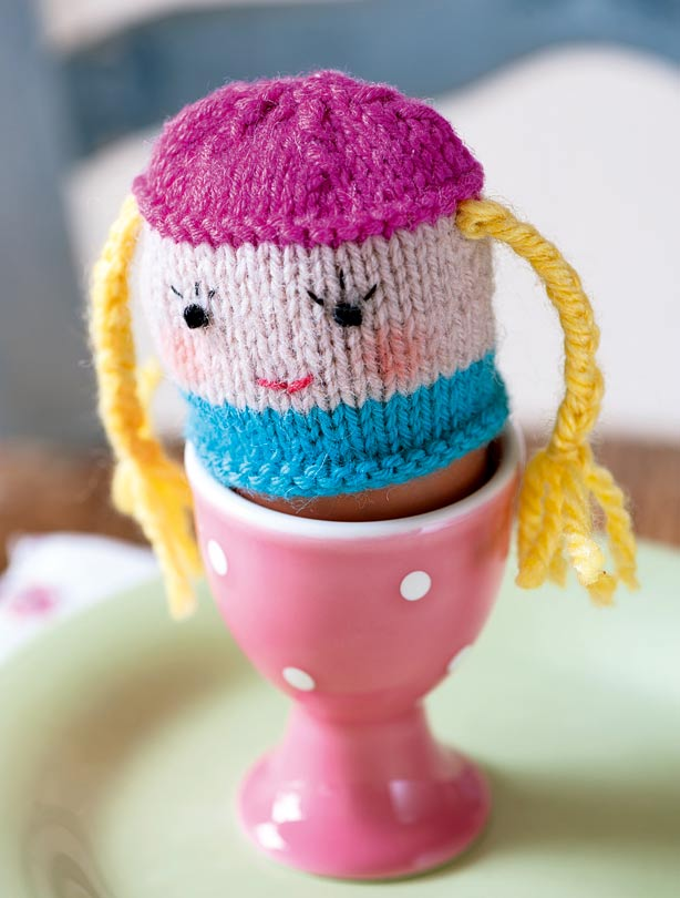Egg cosy knitting pattern
