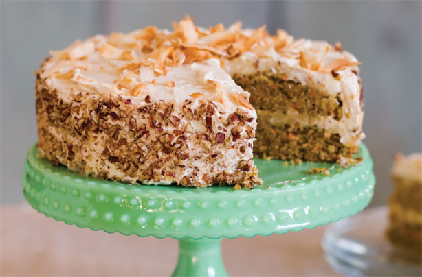 Glutenfree and sugarfree carrot cake recipe GoodtoKnow