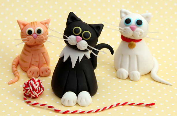 How To Make Cake Toppers Out Of Fimo