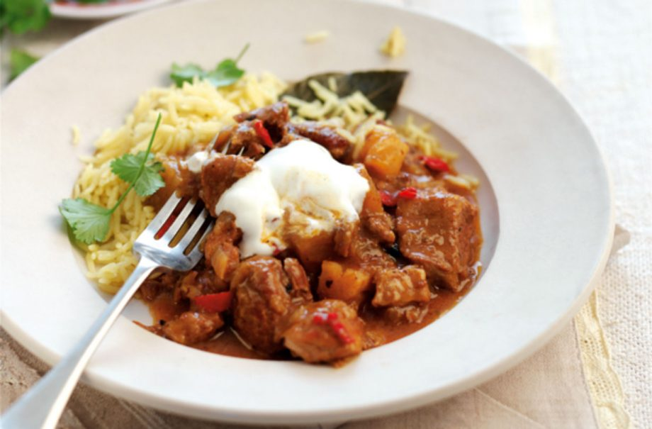 Slow Cooked Pork And Pineapple Curry