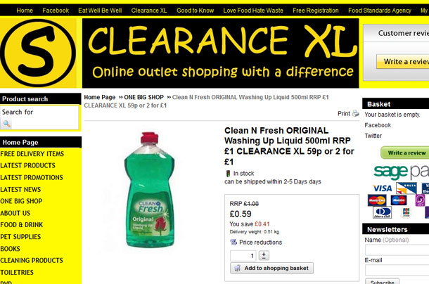 approved food versus clearancexl do they sell cheap food