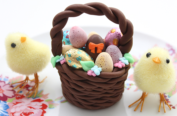 Easter basket cake decorations negle Gallery