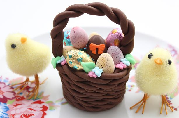 Easter basket cake decorations negle Images