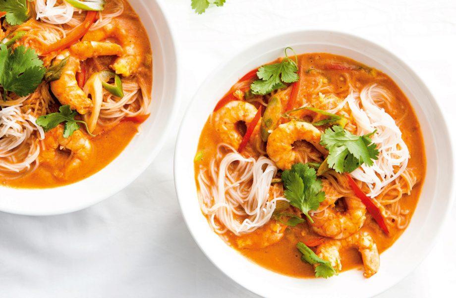 Thai Prawn Curry Noodles