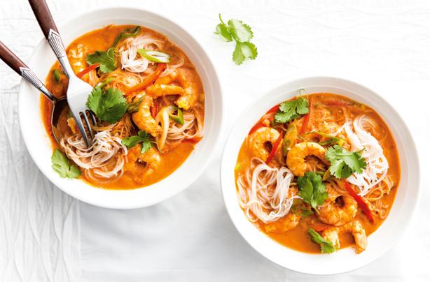 Thai Prawn Curry Noodles Recipe Goodtoknow
