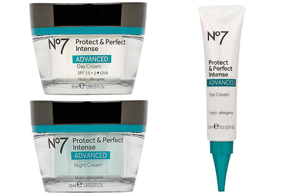 No 7 skin care range