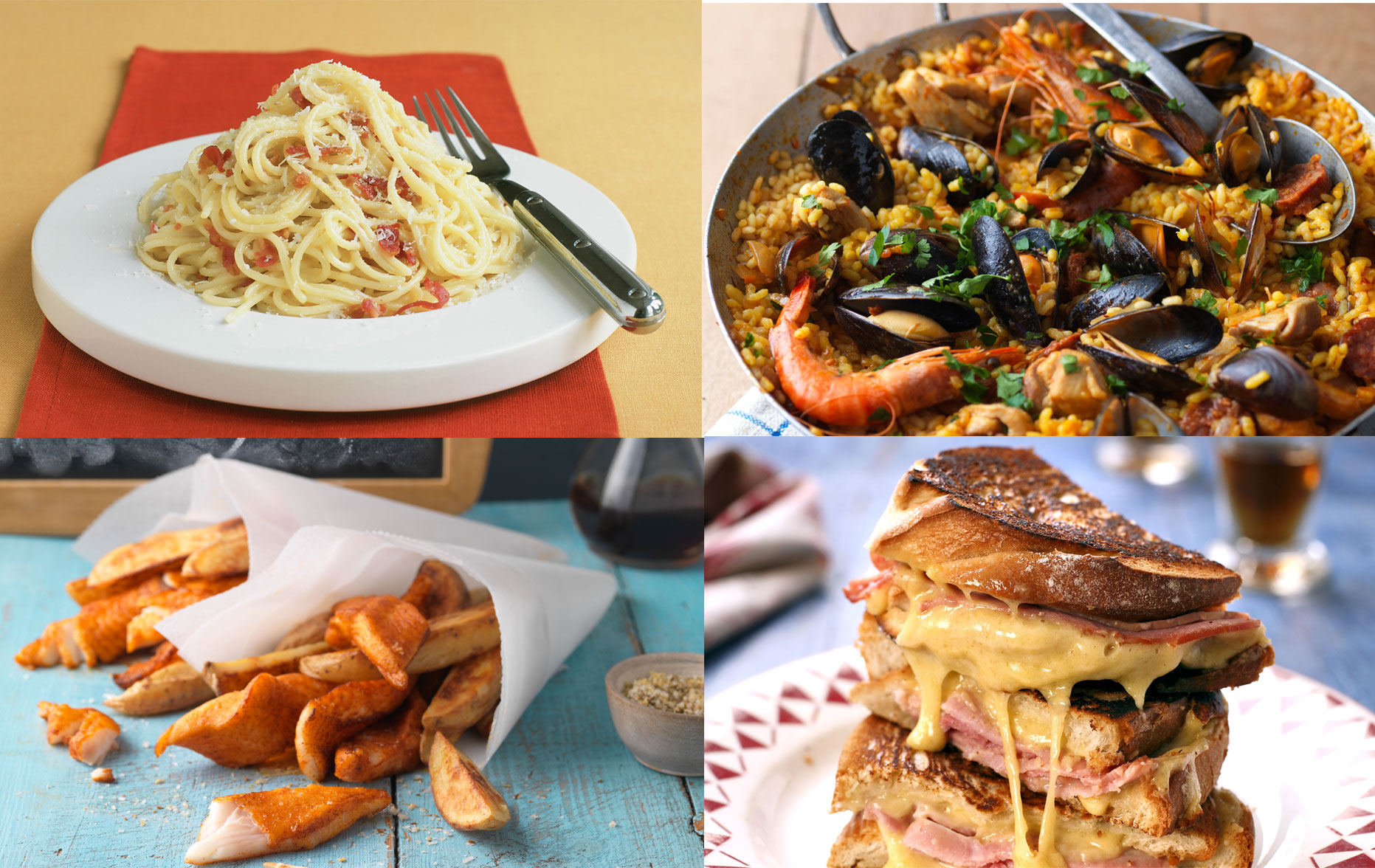 holiday foods at home