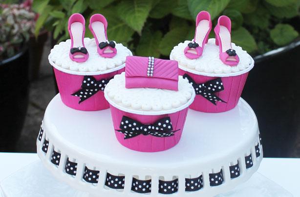 Shoes and handbag cake decorations maxwellsz